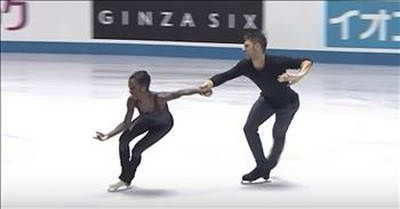 Figure Skating Duo Gives Viral Performance To 'Sound Of Silence'