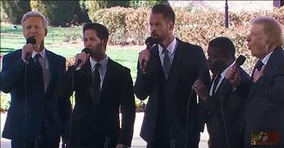 Gaither Vocal Band Performs 'Because He Lives' At Billy Graham Funeral