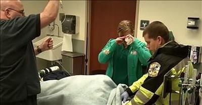Paramedic Fakes Injury To Pull Off Elaborate Proposal