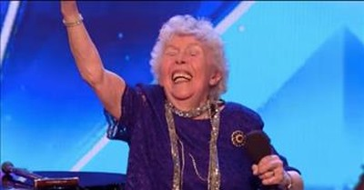 90-Year-Old Wins The Judges With 'I Want To Be Loved By You'