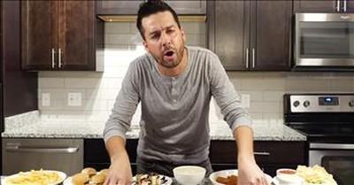 Christian Comedian John Crist On Praying Over Food