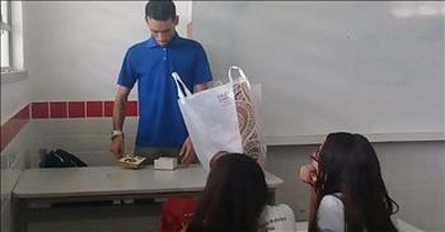 Teacher With No Pay Receives Gift From Students