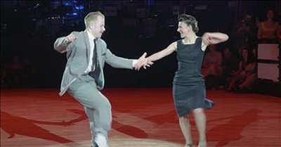 Couple's Swing Dance Routine To Movie Classic