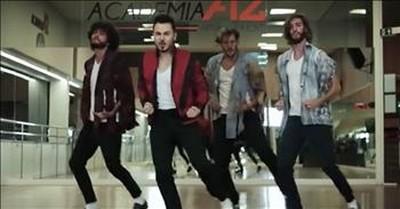 Dance Crew Performs Evolution Of Michael Jackson Dances