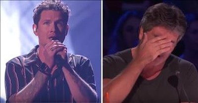 Father Of 6 Brings Simon To Tears With Emotional Song