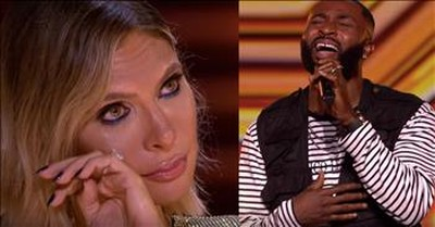 Contestant Brings Judges To Tears After Song For Late Mom