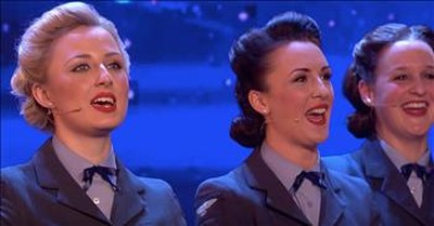 'D-Day Darlings' On Britian's Got Talent With WW2 Veterans