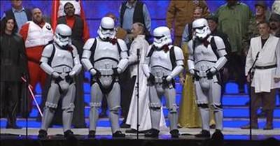 Music City Chorus Barbershoppers Stun The Galaxy With Star Wars Medley