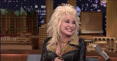 Dolly Parton Makes Jimmy Fallon Try on Her Wig
