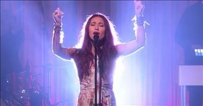 Lauren Daigle Sings 'Still Rolling Stones' On Popular Talk Show