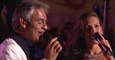 Andrea Bocelli and Wife Veronica Perform Romantic Duet 'Qualche Stupido'