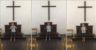 AGT Contestant Ansley Burns Sings 'How Great Thou Art' In An Empty Church