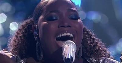 Kymberli Joye Performs 'Oceans (Where Feet May Fail)' On The Voice