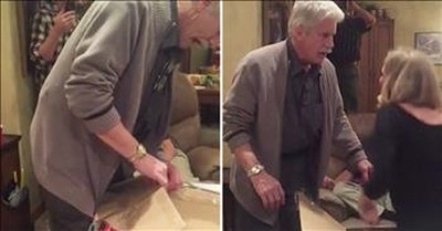 Dad Opens Christmas Gift to Find Long-Lost Daughter