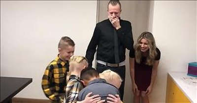 Family Secretly Adopts Orphan And Their Reunion Is Touching