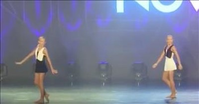 11-Year-Old Identical Twins Dance Routine Wins First Place