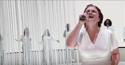 Former Tone-Deaf Singer Praises God During Audition