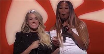 Carrie Underwood And Yolanda Adams Sing 'You'll Never Walk Alone'