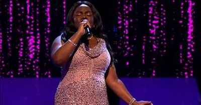 Blind Singer Brings One Judge To Tears With 'Climb Every Mountain' Audition