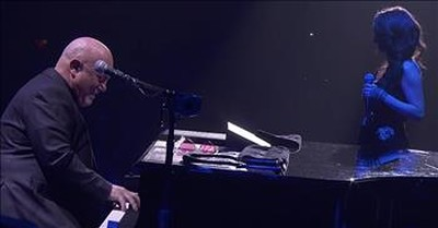 Billy Joel And Daughter Sing 'New York State Of Mind' Duet