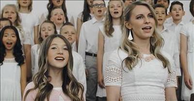 'Risen' - Choir Of 55 Children Sing Original Easter Hymn