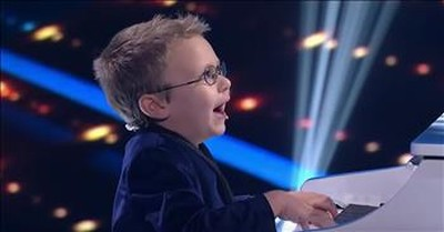 7-Year-Old Blind Piano Prodigy Plays 'Bohemian Rhapsody'
