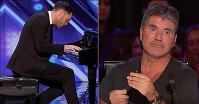 Piano Audition Turns Into Dance On America's Got Talent