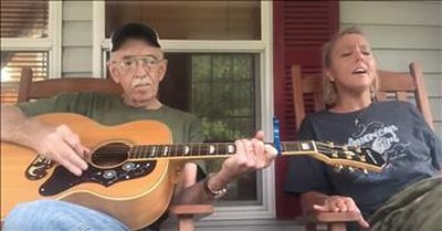 Father And Daughter Sing 'Lord I Want To Go To Heaven' Duet