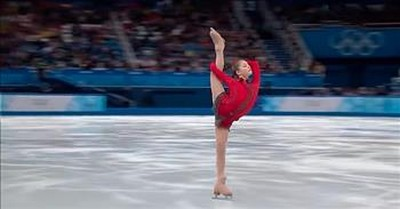 Emotional Russian Ice-Skating Routine From Yulia Lipnitskaya Goes Viral