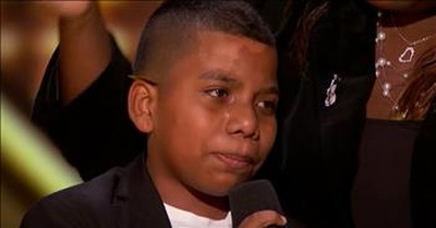 Bullied 11-Year-Old Earns Simon Cowell's Golden Buzzer With Violin Audition