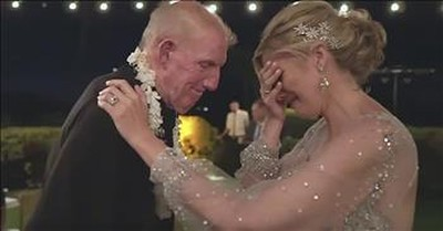 Father Who Nearly Died Shares Touching Dance With Daughter At Wedding