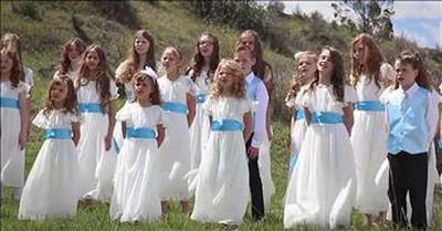 Vision Children's Choir Sings 'Well Done'