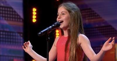 10-Year-Old Opera Singer Emanne Beasha Performs 'Nessun Dorma' On AGT