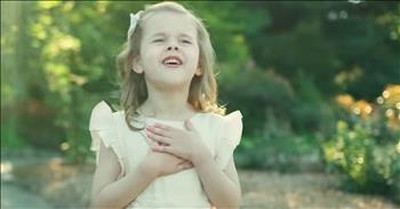 6-Year-Old Claire Crosby Sings 'Consider The Lilies'