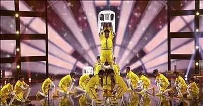 Dance Crew V. Unbeatable Earns Golden Buzzer From Guest Judge Dwayne Wade