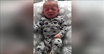 Baby Stops Crying When He Smells Mom's Shirt