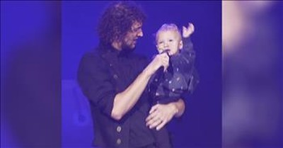 For King And Country Singer Serenades Young Son On Stage With 'Need You More'