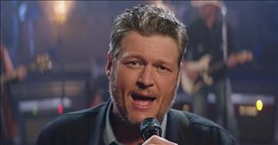 'Jesus Got a Tight Grip' Blake Shelton Live Performance