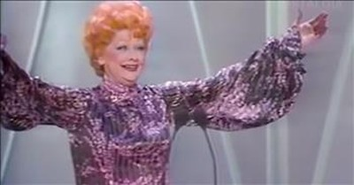1981 Footage Of Lucille Ball Moved To Tears After Standing Ovation