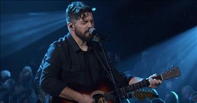 'Stand In Your Love' Josh Baldwin Performs Live At The Dove Awards