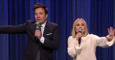 Kristen Bell And Jimmy Fallon Sing A History Of Disney Songs