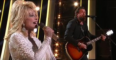'There Was Jesus' Dolly Parton And Zach Williams Live Performance