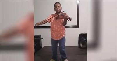 Violin Cover Of 'Hallelujah' From Tyler Butler-Figueroa