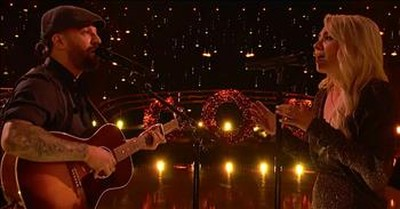 'O Holy Night' From Dancing With The Stars Pro Mark Ballas And Wife