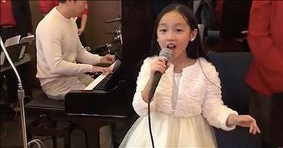 8-Year-Old Malea Emma Sings 'Ave Maria'
