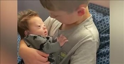 Big Brother Serenades The New Baby With Sweet Country Song