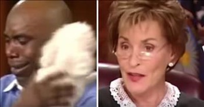 Judge Judy Reunites Dog With Rightful Owner During Emotional Case