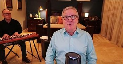 Mark Lowry Sings 'There Is Hope' While Brother Plays Piano