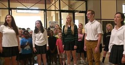 'It Is Well With My Soul' A Cappella From Briarcrest OneVoice Choir