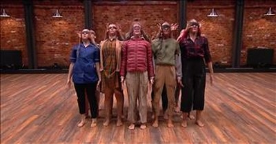 Inspiring Vale Dance Group Performs Completely Blindfolded During Audition